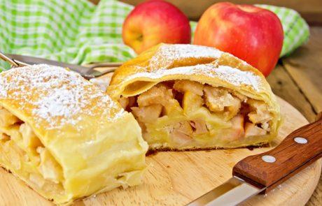 מתכון לשטרודל תפוחים